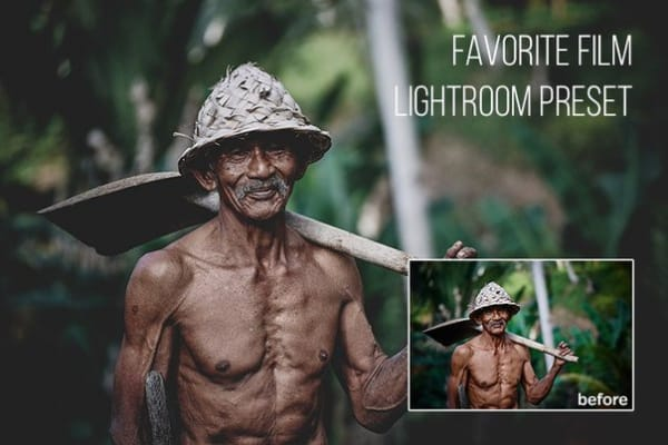 Пресет Favorite Film для lightroom