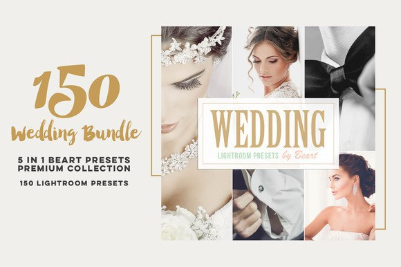 Пресет Wedding Lightroom Presets Bundle HQ для lightroom