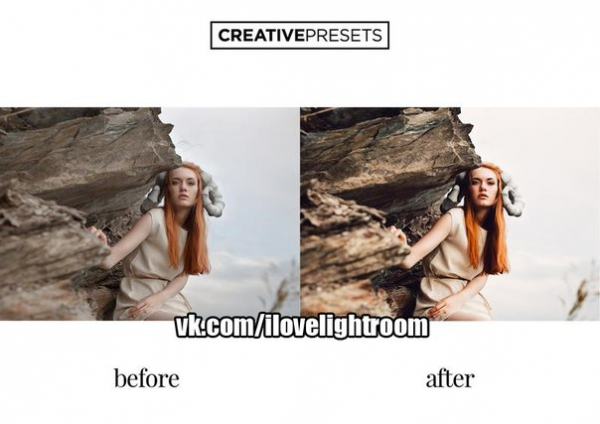Пресет Портрет для lightroom
