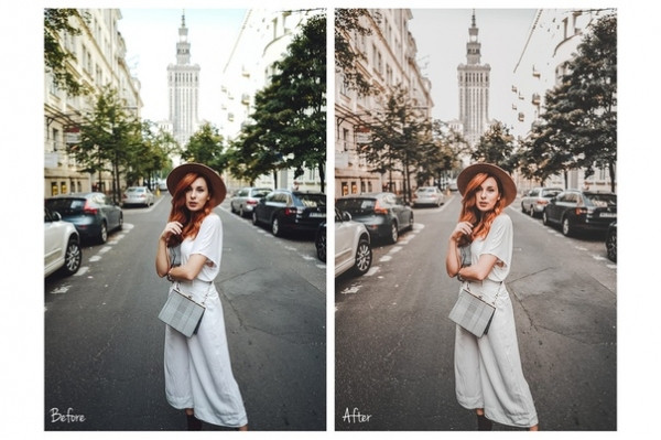 Пресет Peach City для lightroom